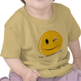 Produtos múltiplos do smiley face camisetas