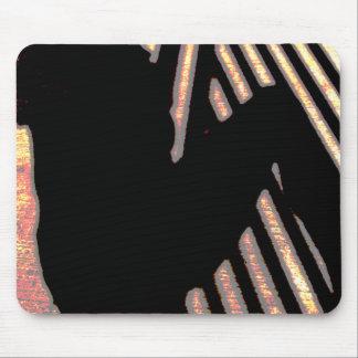 Produtos sombreados do múltiplo da personalidade mousepads