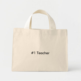 Professor #1 sacola tote mini