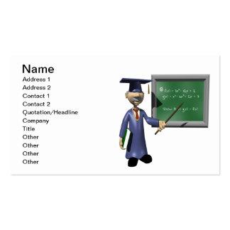 Professor Cartão De Visita