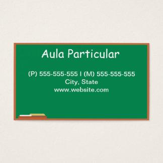 Professor Cartão De Visitas