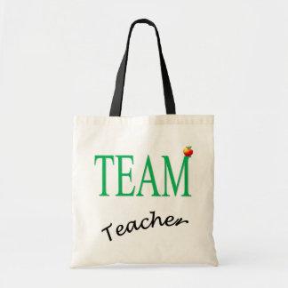 Professor da equipe bolsa tote