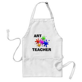 Professor de arte avental