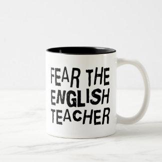 Professor de inglês engraçado caneca