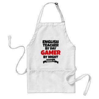 Professor de inglês pelo Gamer do dia em a noite Avental