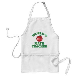 Professor de matemática do mundo o melhor avental