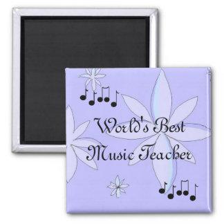 Professor de música do mundo o melhor ímã quadrado