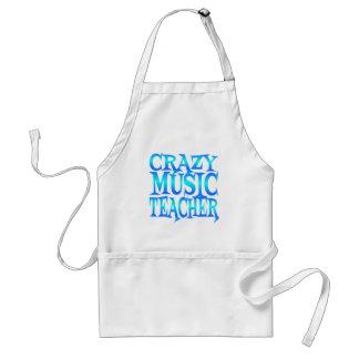 Professor de música louco avental