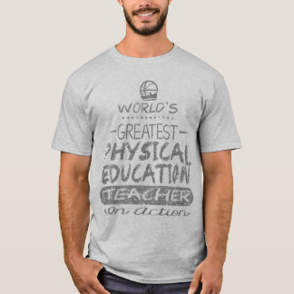 Professor do PE da educação física do mundo o Camiseta