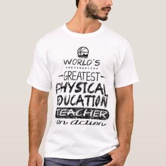 Professor do PE da educação física do mundo o Tshirt
