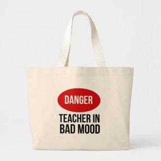 Professor do perigo no humor mau bolsas