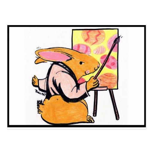 Professor E.Bunny Cartões Postais