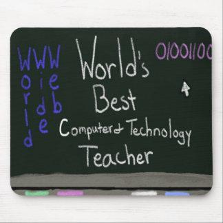 Professor Mousepad do computador do mundo o melhor