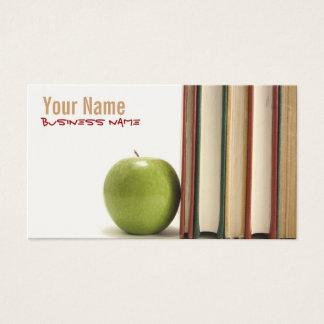 Professor ou professor cartões de visitas