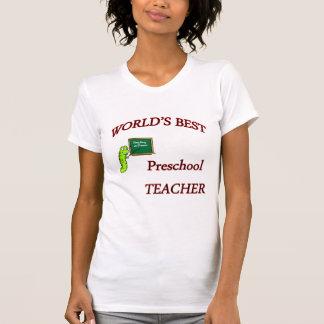 Professor pré-escolar tshirt