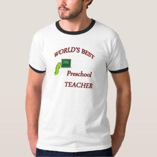 Professor pré-escolar tshirts