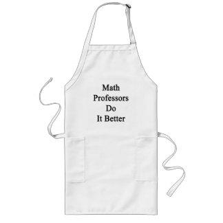 Professores de matemática melhora avental