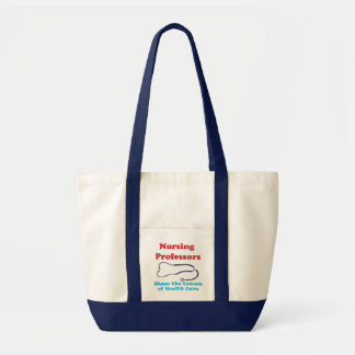 Professores dos cuidados bolsa de lona