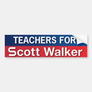 Professores para o caminhante de Scott Adesivo Para Carro