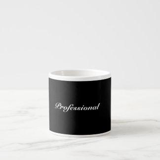 Profissional - caneca de café (preto)