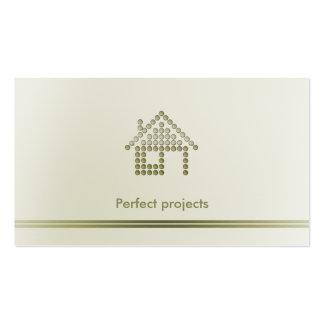 Profissional do arquiteto | cartão de visita