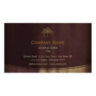 Profissional dos bens imobiliários | cartão de visita
