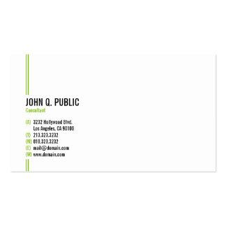 Profissional elegante moderno minimalista cartão de visita