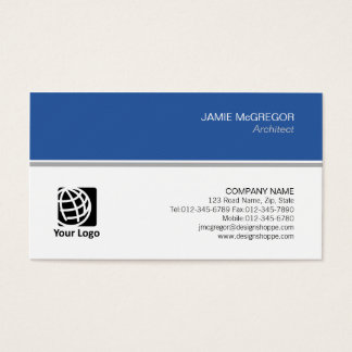 Profissional mínimo simples da construção do cartão de visitas