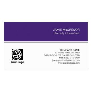 Profissional mínimo simples do consultor de cartão de visita