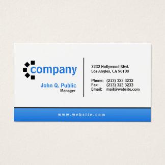 Profissional moderno simples da parte inferior cartão de visitas