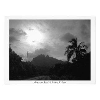"""""""Profissional preto e branco de Kauai cativando"""" Impressão De Foto"""