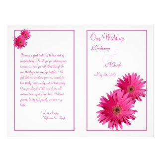 Programa cor-de-rosa do casamento da margarida do