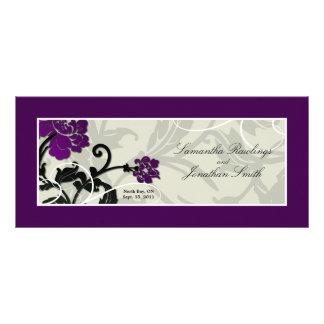 Programa da igreja do casamento - redemoinho flora modelos de panfletos informativos