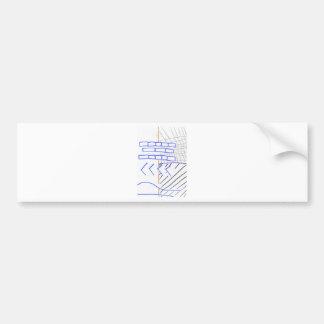 Programa de papel adesivo para carro