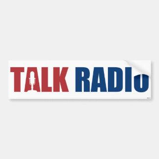 Programa de rádio adesivos