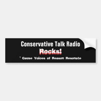 Programa de rádio conservador, rochas! , Rochas! , Adesivo Para Carro