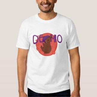 Programa demonstrativo o urso! camisetas