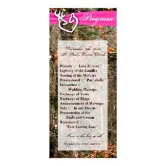 programa do casamento 25 4x9 que caça o fanfarrão 10.16 x 22.86cm panfleto