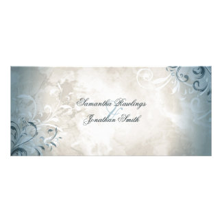 Programa do casamento - folha elegante & panfleto
