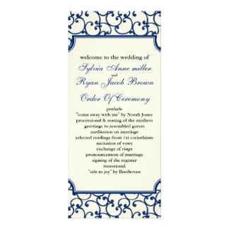 programa do marfim e do casamento dos azuis panfleto