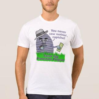 Programa engraçado da proteção do ovo da páscoa t-shirt