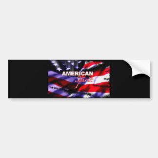 Programa televisivo americano das motocicletas do  adesivo para carro