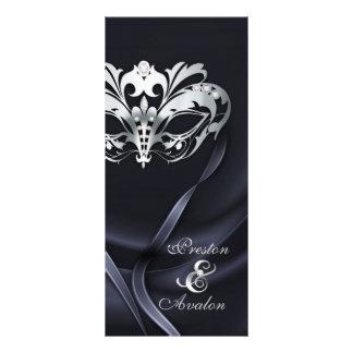 Programa Wedding Jeweled do mascarada preto de pra Modelo De Panfleto Informativo