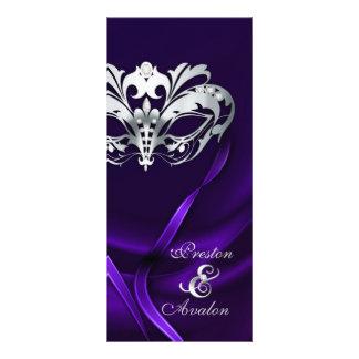 Programa Wedding Jeweled do mascarada roxo de prat Modelos De Panfletos Informativos