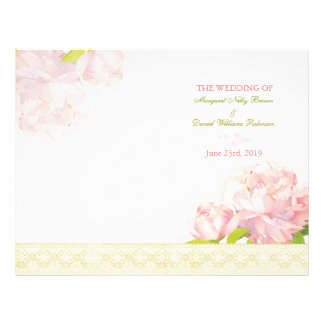 Programas cor-de-rosa do casamento da dobra do Bi