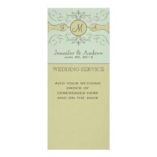 Programas de missa elegantes do casamento prudente convites