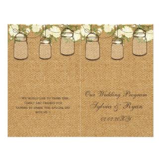 programas dos frascos de pedreiro dos rosas do panfletos