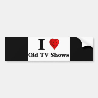 Programas televisivo idosos do amor adesivo para carro