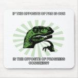 Progresso e congresso de Philosoraptor Mouse Pad