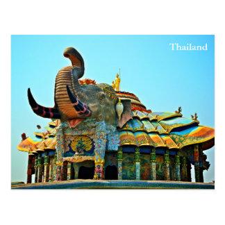 Proibição Rai de Wat, Korat, Tailândia Cartão Postal